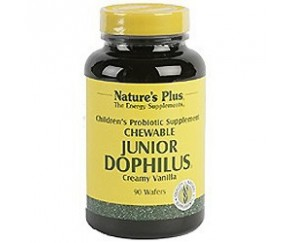 Junior Dophilus Masticable 90 comp. NATURES PLUS