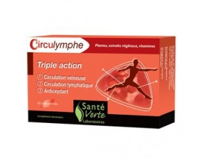 Circulymphe triple action Sante Verte 60 tabletas
