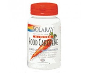 SOLARAY Food Carotene 50 perlas