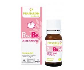 Aceite de masaje inmunidad BIO 10 ml Pranarom