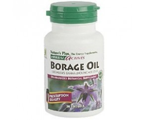 Aceite Borraja 30 perlas. NATURES PLUS
