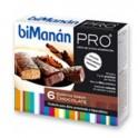 BIMANAN PRO Barrita Chocolate 6 uds