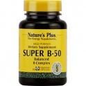 Super B-50 Complex 60 caps. NATURES PLUS