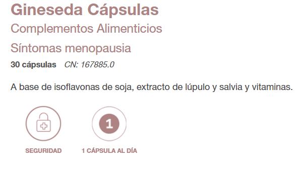 GINESEDA CAPSULAS