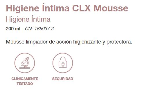 MOUSSE CLX