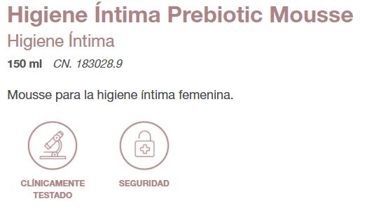 prebiotics mousse